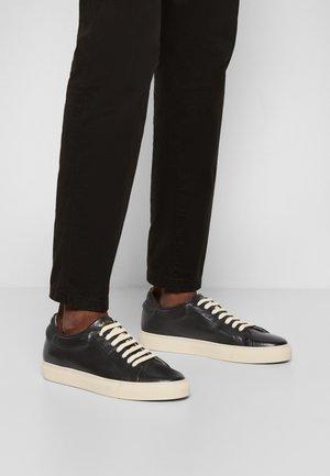 BASSO ECO - Sneakers laag - black/white