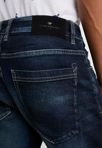 TOM TAILOR - TRAD - Relaxed fit jeans - dark stone wash denim blue - 3