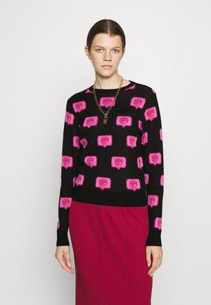 EYELIKE - Pullover - nero