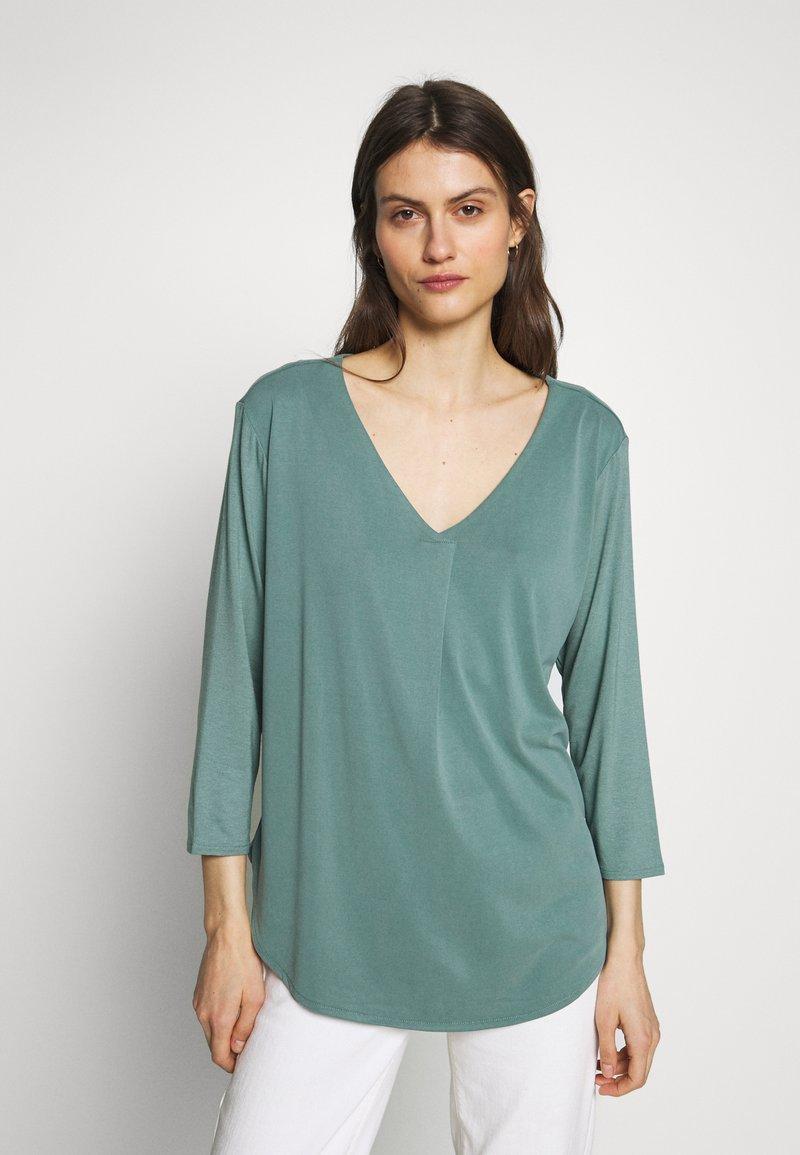 Betty & Co - Long sleeved top - sagebrush green