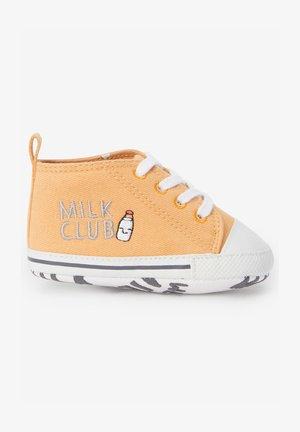 Sneakers hoog - ochre