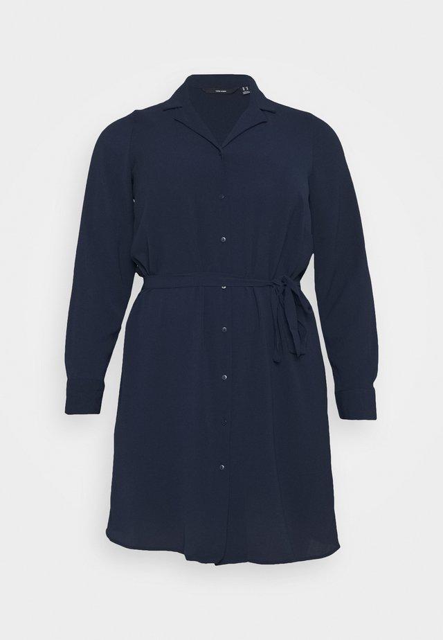 VMSAGA DRESS  - Košilové šaty - navy blazer