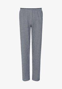 Mey - SCHLAFHOSE LANG SERIE MEY CLUB - Pyjama bottoms - light grey melange - 3