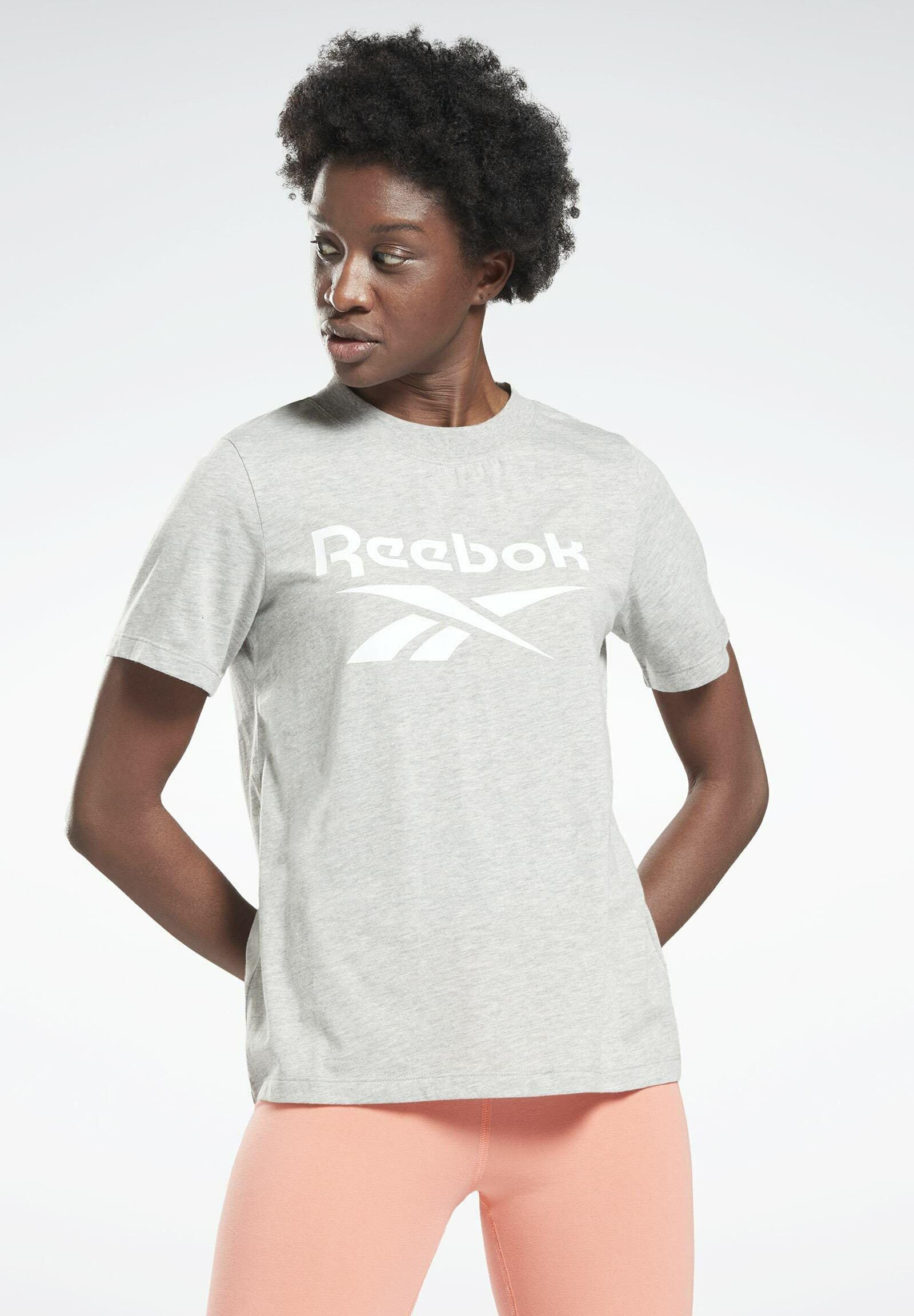 Women REEBOK IDENTITY REECYCLED GRAPHIC - Print T-shirt