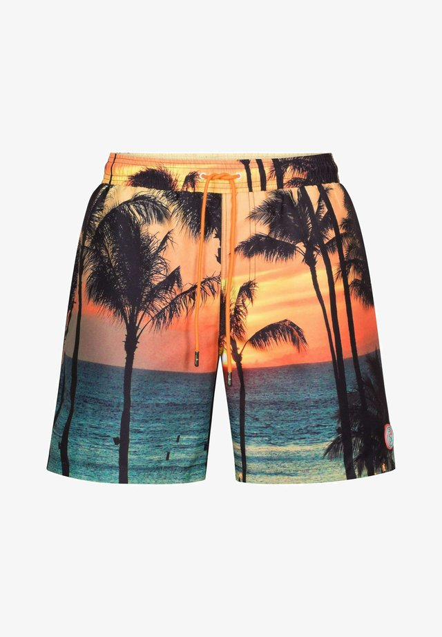 SAUL - Shorts da mare - orange