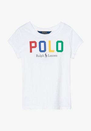 GRAPHIC - T-shirt con stampa - pure white multi