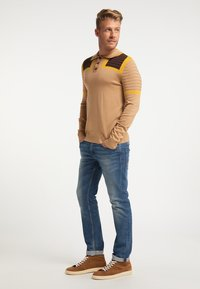 Mo - Polo shirt - multicolor kamel - 1
