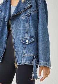 PULL&BEAR - Denim jacket - blue denim - 5