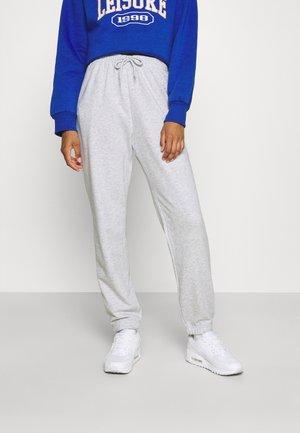 AMAZE - Pantalon de survêtement - light grey melange