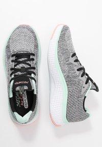 Skechers Sport - SOLAR FUSE - Trainers - gray/black/pink/mint - 3