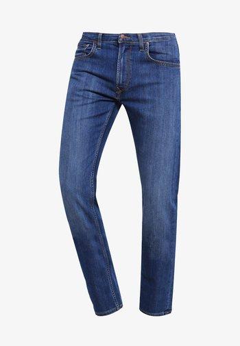 DAREN ZIP - Jeans straight leg - true blue