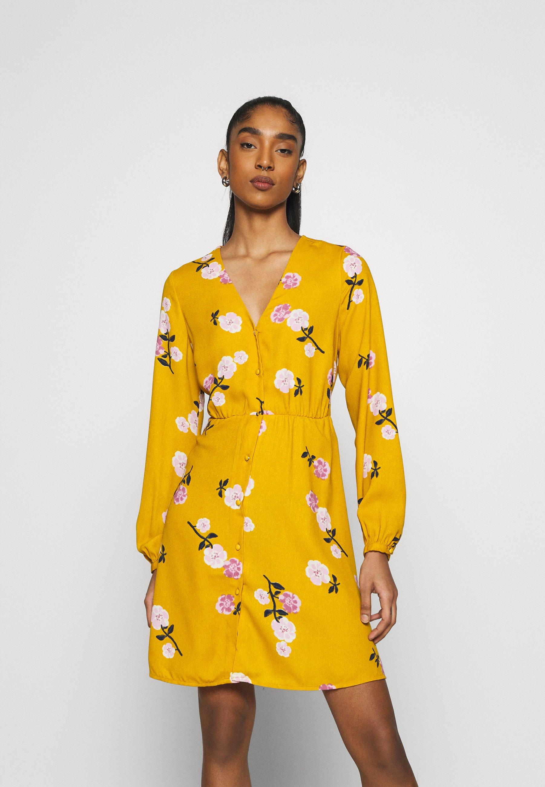 VMFALLIE TIE DRESS   Blusenkleid   chai tea/newfallie