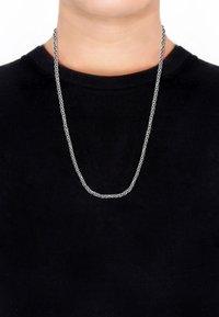 KUZZOI - Necklace - silver coloured - 1