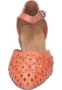 Piazza - Ankle strap ballet pumps - orange - 4