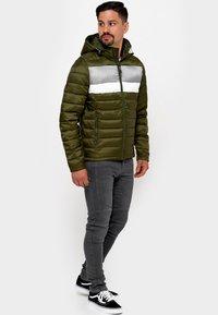INDICODE JEANS - Winter jacket - cypress - 1