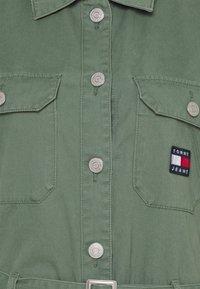 Tommy Jeans - BOILER SUIT - Jumpsuit - desert olive - 5