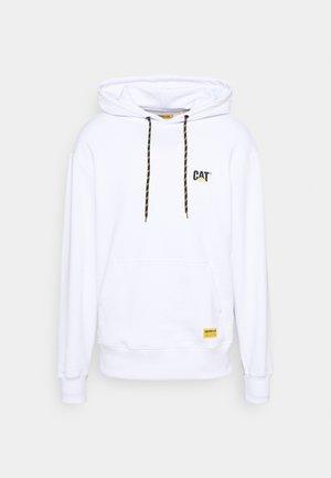 SMALL LOGO HOODIE - Sweatshirt - white