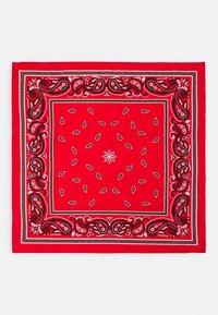 Zign - BANDANA UNISEX 2 PACK - Šátek - black/red - 3