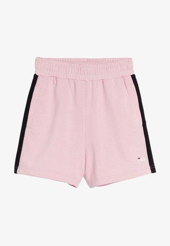 Shorts - coral blush-black