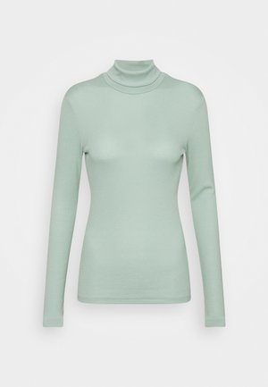 PCBIRDIE T NECK - Long sleeved top - jadeite