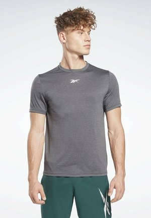 MÉLANGE  - T-shirt - bas - black