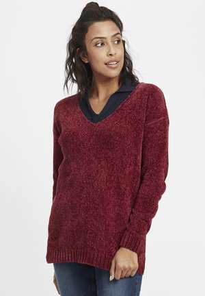 ESMIRA - Pullover - wine red