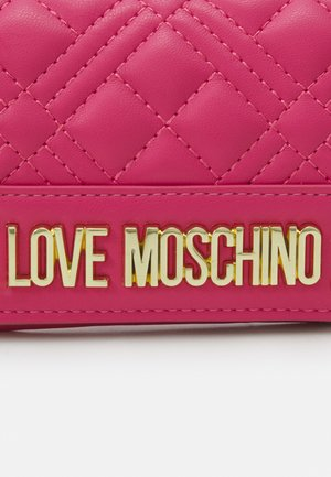 QUILTED SOFT QUILTED SOFT - Wallet - fuxia