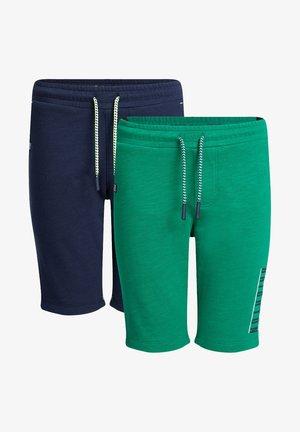 2 PACK - Kraťasy - green/ dark blue