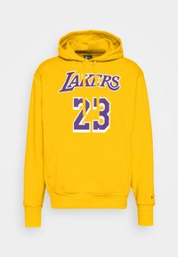 Nike Performance - NBA LOS ANGELES LAKERS LEBRON JAMES CITY EDITION ESSENTIAL - Club wear - amarillo/field purple - 4