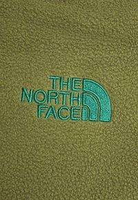 The North Face - STEEP TECH JACKET - Fleecová mikina - burnt olive green/black/evergreen - 8