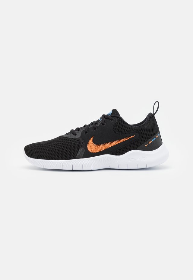 FLEX EXPERIENCE RN 10 - Scarpe running neutre - black/total orange/coast/white/dark smoke grey