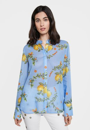 IRIS - Button-down blouse - blue