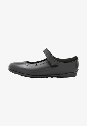 BLACK MARY JANE BROGUES - Baleríny s páskem - black