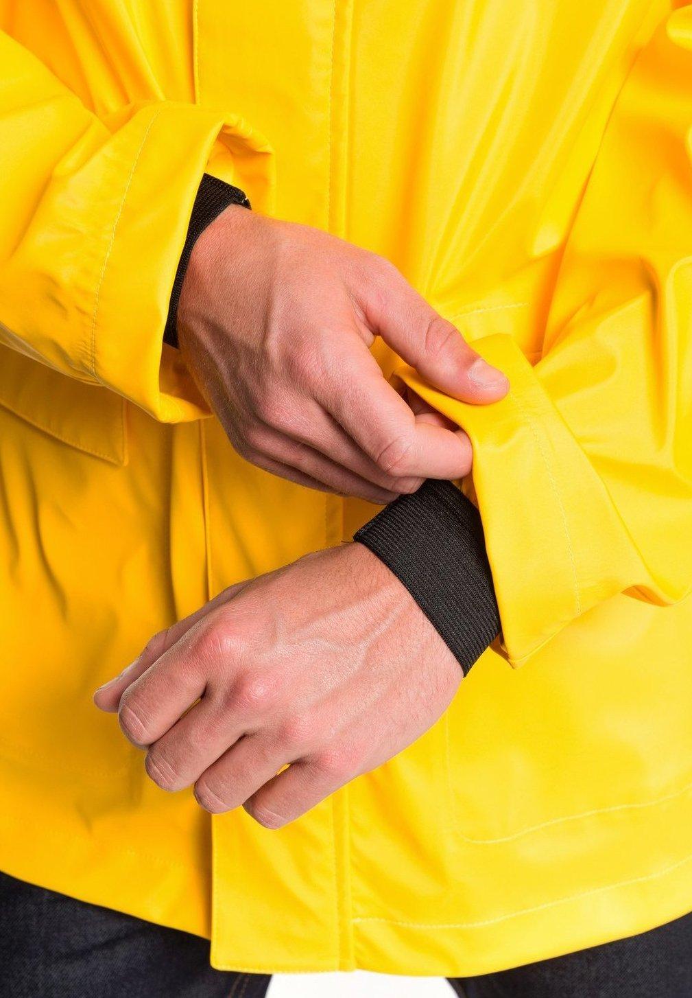 MISERE Regenjacke wasserabweisende Jacke nautic yellow