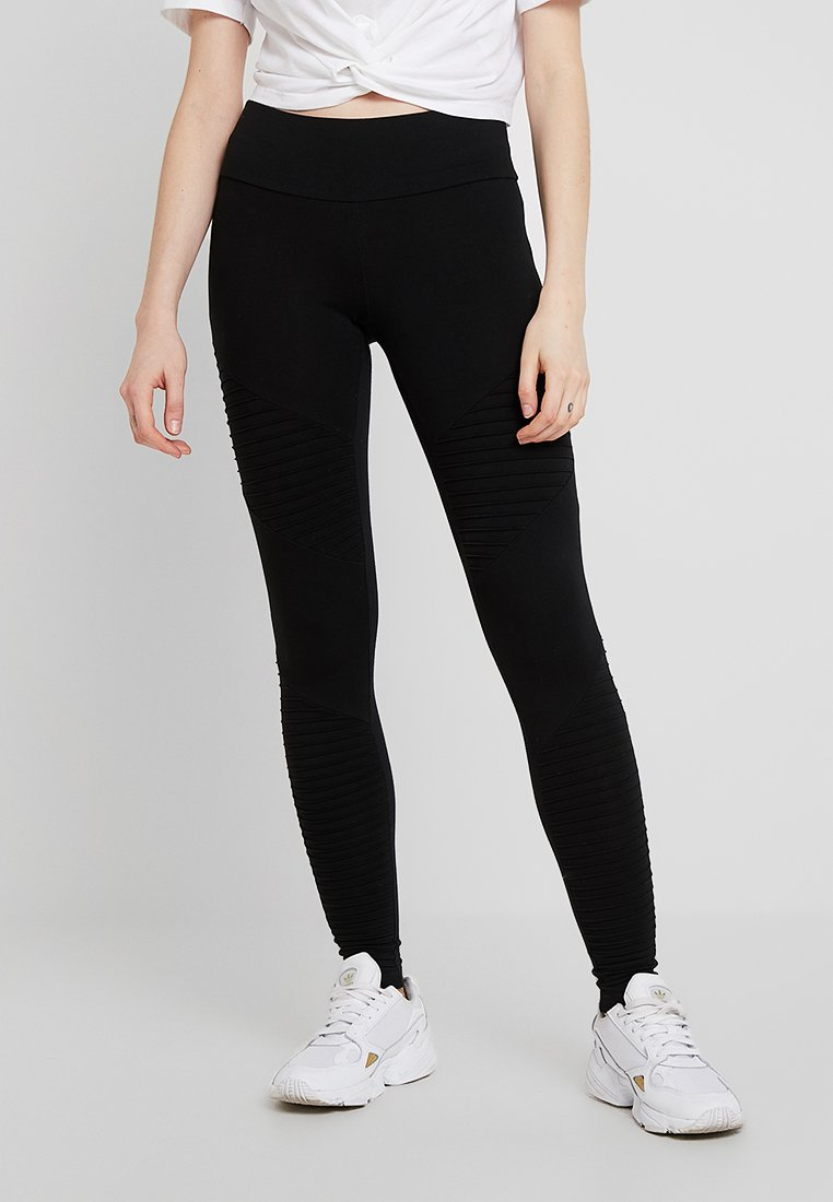 Cotton On Dakota Detail Leggings Trousers Moto Black Zalando Ie