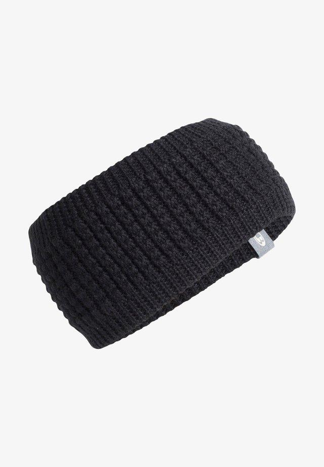 STIRNBAND INFINITY - Ear warmers - schwarz