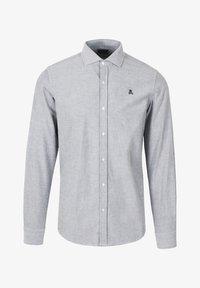 Scalpers - SLIM FIT OXFORD - Shirt - khaki - 4