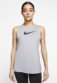Nike Performance - Top - particle grey/black - 0