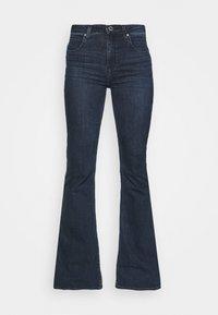 SUPER HIGH FLARE OPTIX - Široké džíny - clean aurora
