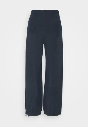 MALOU TROUSERS - Trousers - navy