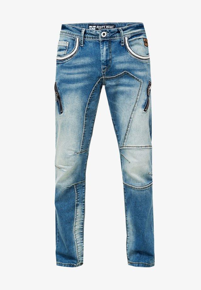 HURLEY  - Straight leg jeans - blau