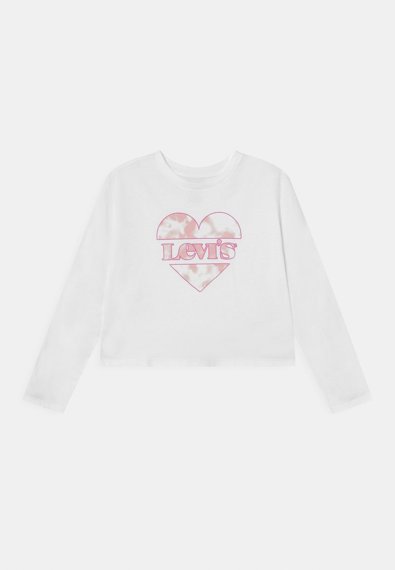 Levi's® - CROPPED - Long sleeved top - white