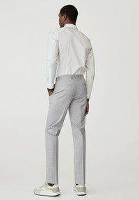 Mango - Suit trousers - gris moyen - 2
