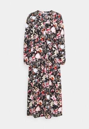 ONLDANIELLA CALF DRESS  - Vestido camisero - black