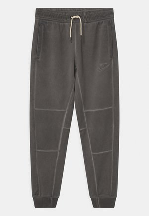 WASH - Tracksuit bottoms - dark grey