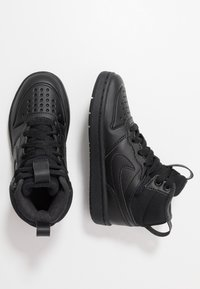Nike Sportswear - COURT BOROUGH MID 2 - High-top trainers - black - 0