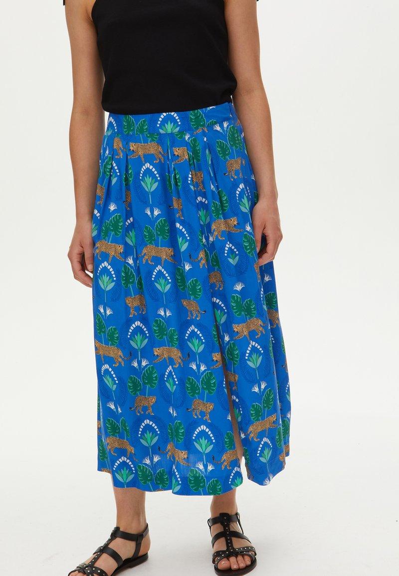 Oliver Bonas - A-line skirt - blue