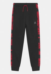 Jordan - ESSENTIALS - Tracksuit bottoms - gym red/black - 5