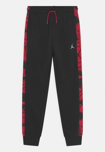 ESSENTIALS - Trainingsbroek - gym red/black