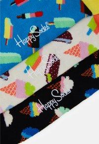 Happy Socks - ICE CREAM SOCKS GIFT SET 3 PACK UNISEX - Socks - multi - 3